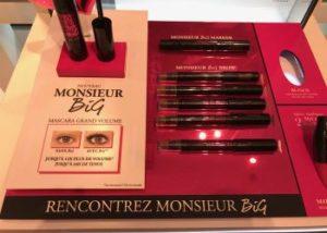 plv campagne monsieur big 0284bdb57cb38f5447badfe8ec397100