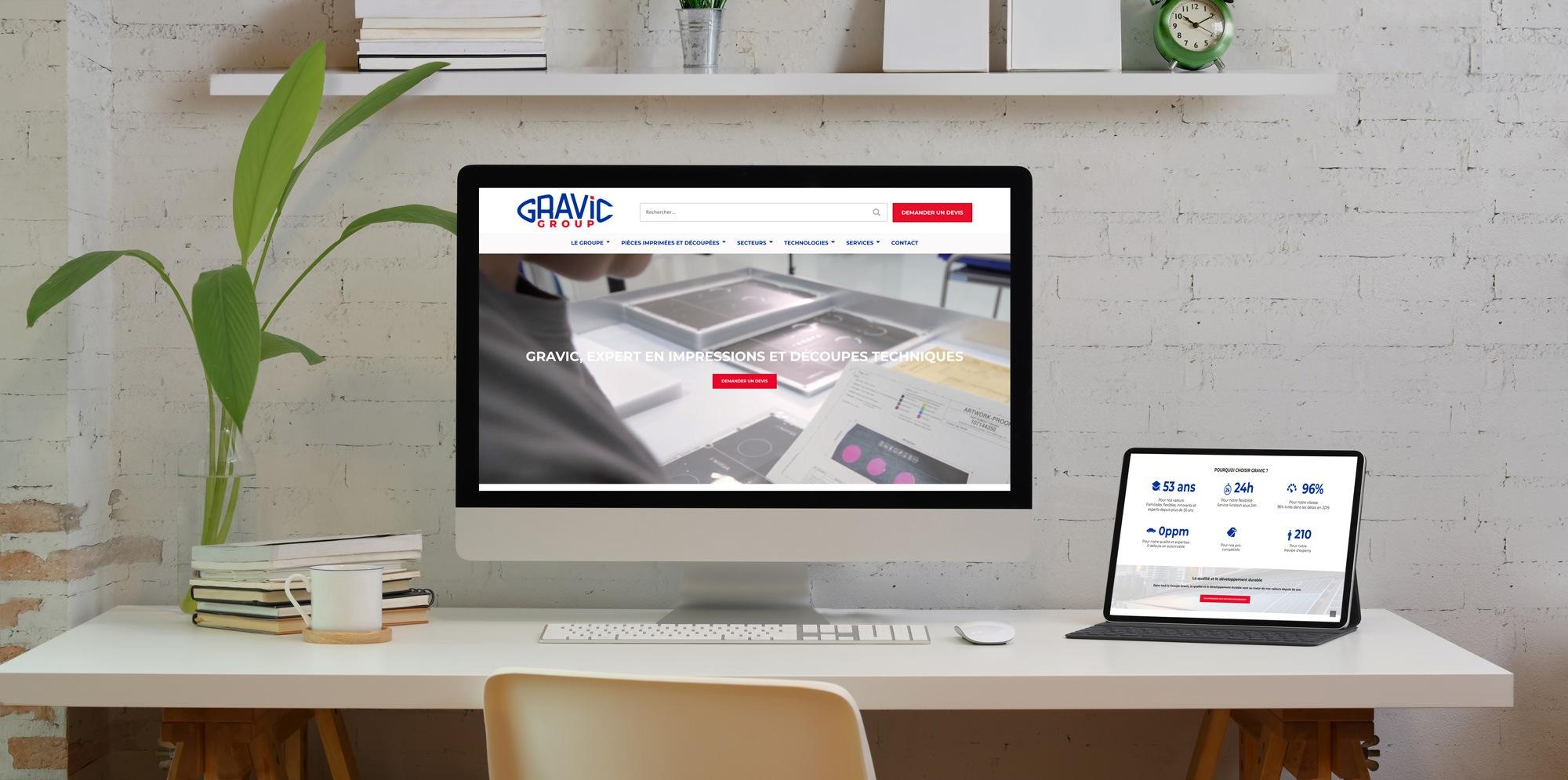 laptop view gravic